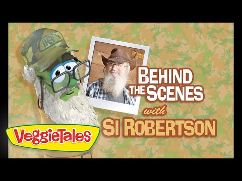 Behind the Scenes with Si Robertson | VeggieTales