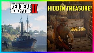 There Is A HIDDEN Treasure On This Ship In Red Dead Redemption 2 That Almost Nobody Knows About!