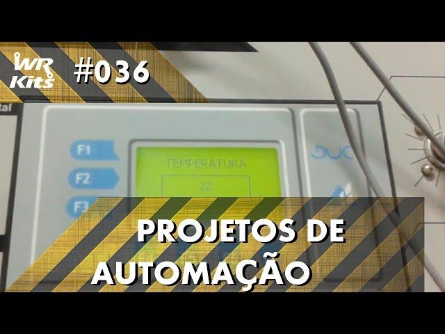 CONTROLE DE TEMPERATURA COM CLP ALTUS DUO| Projetos de Automação #036