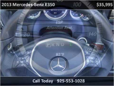 2013 Mercedes-Benz E350 Used Cars San Ramon CA
