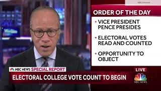 NBC News special report: 2020 electoral college certification