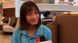 Hoàng Thị Loan bật mí nghề nghiệp trong mơ trước khi là cầu thủ