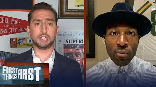 Cam to be a force to be reckoned with in New England — Greg Jennings | NFL | FIRST THINGS FIRST