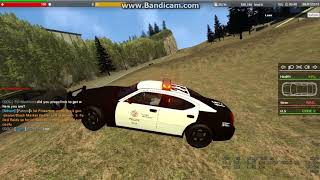 Trolling Dark RP Gmod server - stealing police car - kids screams at me - get shot at and escape
