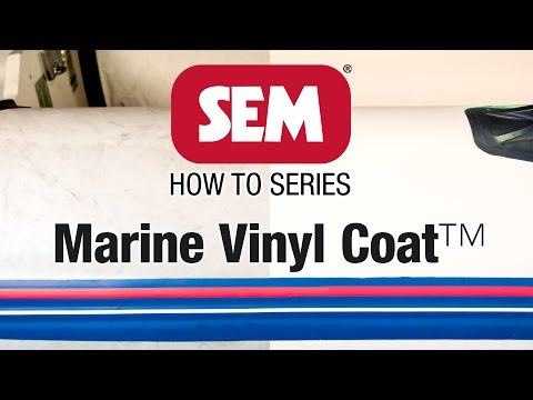 SEM How To Series: Repair your PVC Dinghy with Marine Vinyl Coat