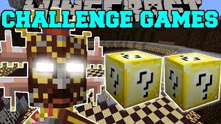 /minecraft jungle tribe challenge games lucky block mod modded mini game