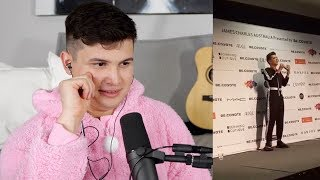 Vocal Coach Reacts to James Charles Singing On Tour