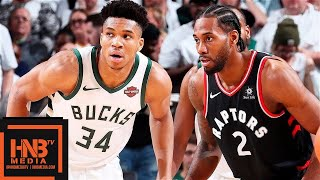 Toronto Raptors vs Milwaukee Bucks - Game 1 - Full Game Highlights | 2019 NBA Playoffs
