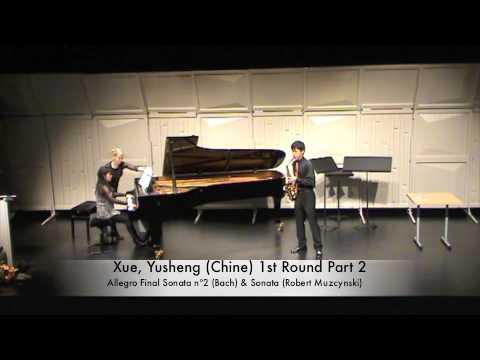 Xue, Yusheng (Chine) 1st Round Part 2.