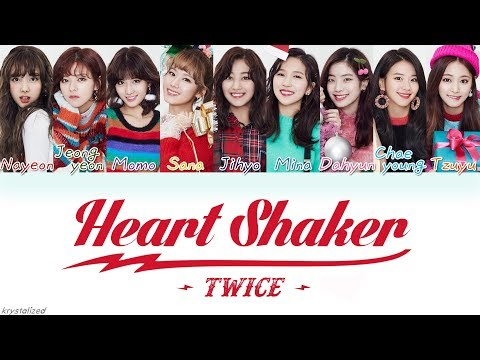 TWICE (트와이스) - Heart Shaker [HAN ROM ENG Color Coded Lyrics]
