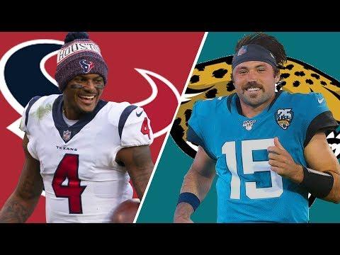 Houston Texans vs Jacksonville Jaguars Live Reactions & Play-by-Play | Week 9
