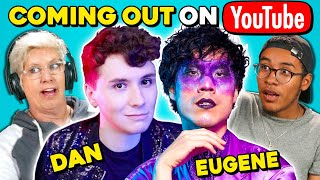 Generations React To Dan Howell & Eugene Lee Yang Coming Out On YouTube