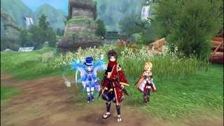 Aura Kingdom - Shuriken/Ninja Class Gameplay