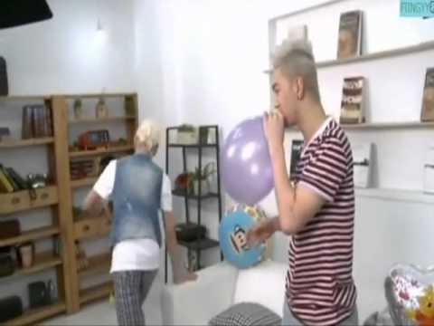 NU'EST Funny moment ( Baekho and Ren )