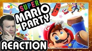 🔴 SUPER MARIO PARTY 🎲 E3 2018 Nintendo Treehouse Gameplay Live Reaction
