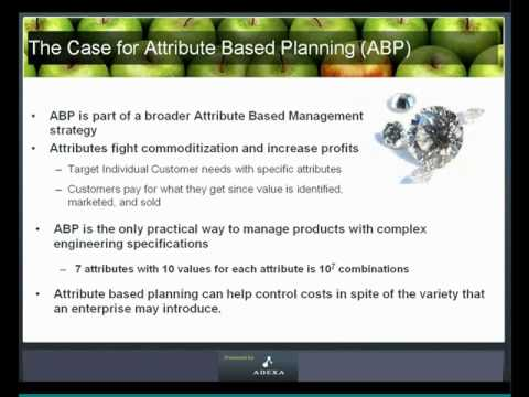 What is Attribute-Based Planning?