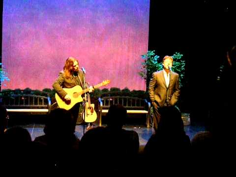 Raewyn, Russell Crowe & Alan Doyle, Indoor Garden Party 1, St. John's,