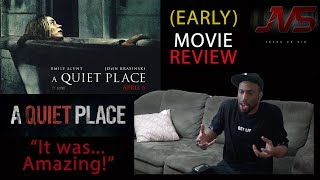 "A Quiet Place (2018) | MOVIE REVIEW - ""IT WAS AMAZING!"" #AQuietPlace"