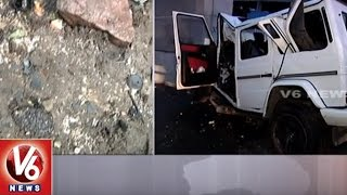 AP Minister Narayana's Son, Friend Killed In Car Accident | Live Updates From Accident Spot | V6News