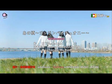 whiteeeen - あの頃〜ジンジンバオヂュオニー〜 (那些年 日文cover ) (HD高畫質歌詞版)