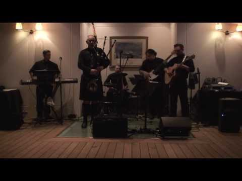 Clan Ceilidh Band, Gay Gordons on the Royal Yacht Britannia, Edinburgh
