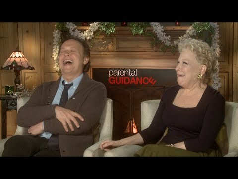 Billy Crystal and Bette Midler Interview: PARENTAL GUIDANCE ...