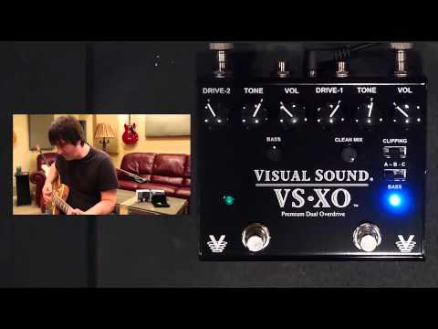 Visual Sound VS-XO Dual Premium Overdrive