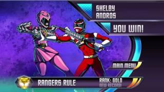 Sieu Nhan Game Play   Siêu nhân đỏ và đồng bọn đại chiến & ninja rùa