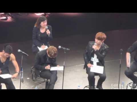 [Fancam] 130826 Hero release event, Sungmin♥ cut ver.
