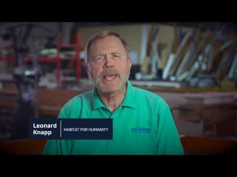 We're building...community| Leonard Knapp, director of Habitat for Humanity Calcasieu Area