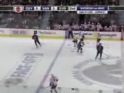 Flames Vs. Canucks October 9 2008