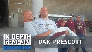 Dak Prescott on brother's suicide