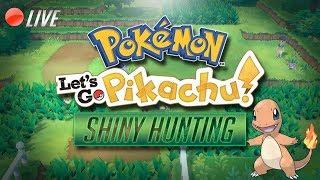 Pokemon Let's Go Pikachu: Charmander Shiny Hunt