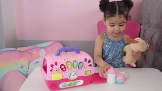 TOY REVIEW VTECH CARE FOR ME CARRIER (1 YEAR OLD)