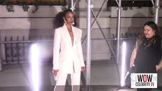Kelly Rowland Arrives to Harpers Bazaar Icons Party in New York City