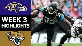 Ravens vs. Jaguars | NFL Week 3 Game Highlights