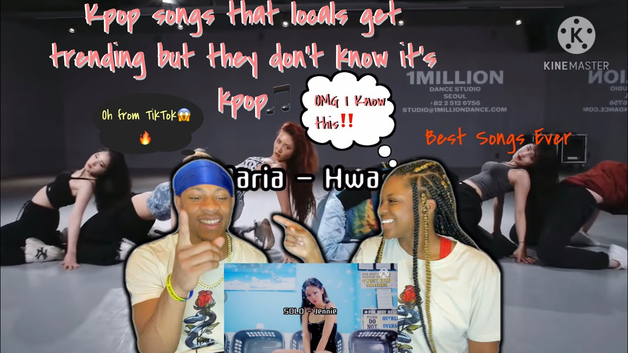 Kpop songs that locals get trending but they don't know it's kpop REACTION!!! {ReUpload}