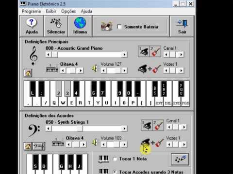 Piano Eletronico - Guns N' Roses  Sweet Child O' Mine Intro