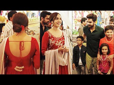 Ritu Varma and Naga Shaurya spotted at wedding in Hyderabad