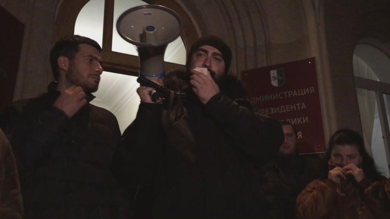 Оппозиция в Абхазии требует немедленной отставки президента