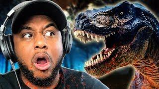 ESCAPE THE DINOSAUR!!   Jurassic Park: T-Rex Breakout
