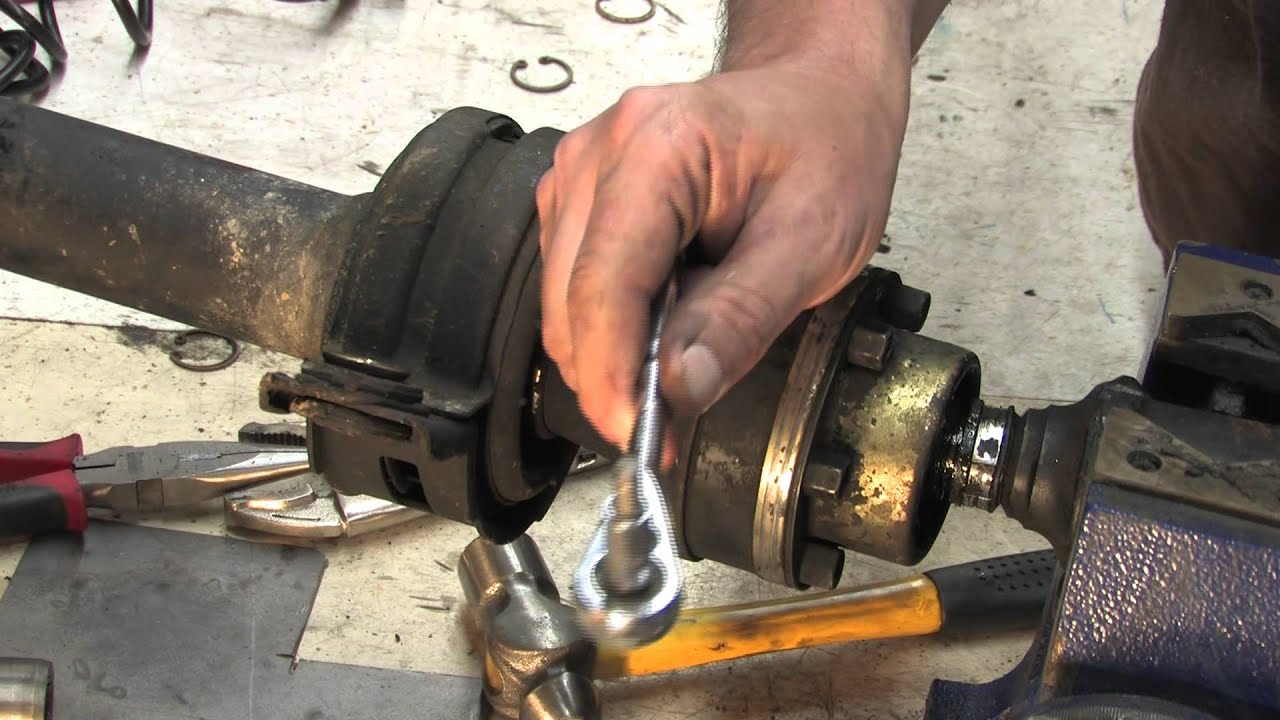 Driveshaft 103 Replacing Carrier Bearings Youtube