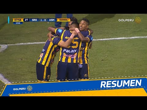 Sport Rosario vs Universidad San Martin