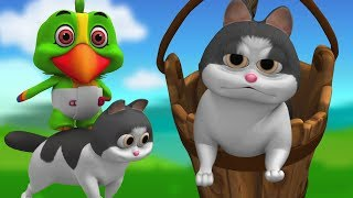 Ding Dong Bell | lagu anak-anak | Sajak anak-anak | Ding Dong Bell | Little Treehouse | Kids Rhymes