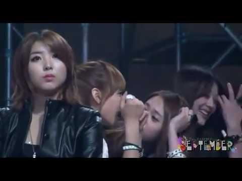 [Fancam] 111229 Cute f(x) SBS Gayo Daejun 2011