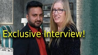Interview 90 Day Fiance Christina daughter of couple Jenny & Sumit Details of couple relationship!