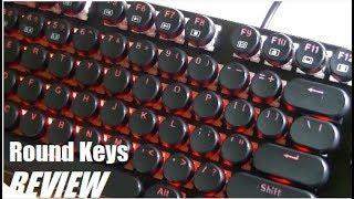 REVIEW: E-Element Z-88 Mechanical Keyboard - Typewriter Keys!