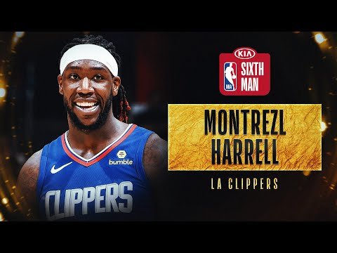 Montrezl Harrell Wins #KiaSixth Award | 2019-20 NBA Season