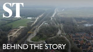HS2: Living in Britain's biggest building site | Behind The Story