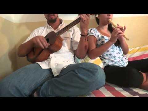 Canción VENEZUELA, Flauta Dulce y Acompañamiento del Cuatro Venezolano